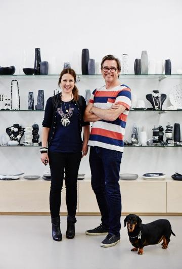Louise Olsen and Steve Ormandy